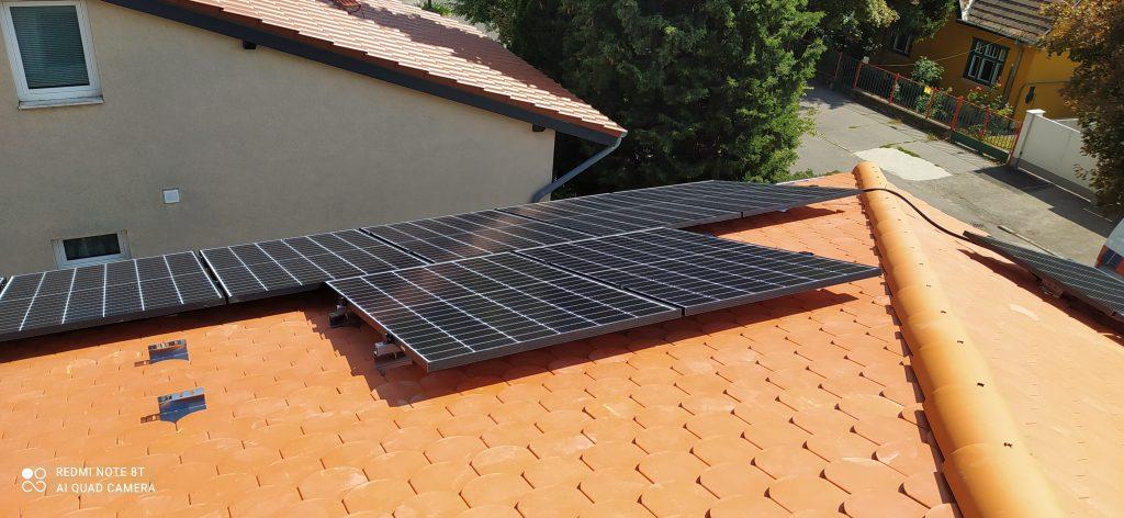 Budapest napelemes rendszer